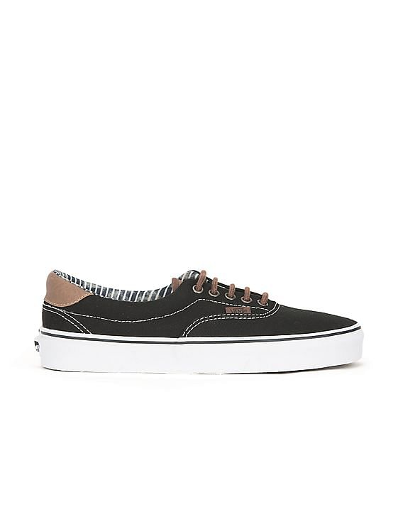 Flat 50% VANS Footwear By Nnnow | Leather Trim Canvas Sneakers @ Rs.2,150