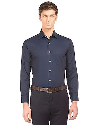 Arrow Two Toned Jacquard Shirt
