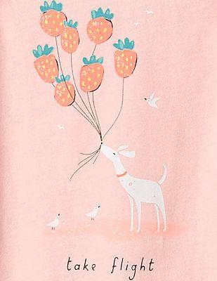 GAP Baby Pink Sunny Day Bodysuit