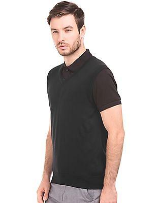 Arrow Regular Fit Sleeveless Sweater