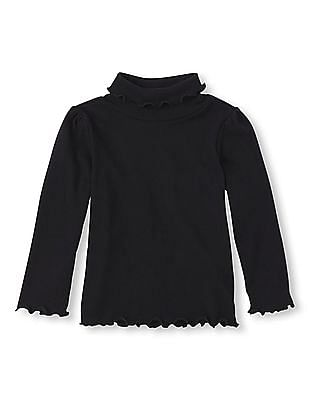 The Children's Place Baby Solid Turtle Neck Top