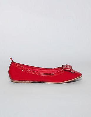 GAP Girls Red Patent Bow Ballet Flats