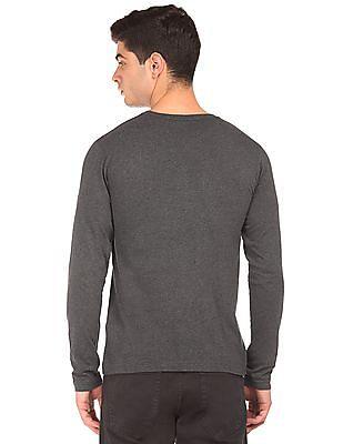 Gant Long Sleeve Printed T-Shirt