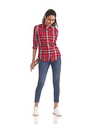 Aeropostale Long Sleeve Check Shirt