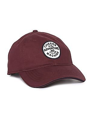 Flying Machine Brand Appliqued Panelled Cap