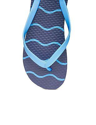 GAP V-Strap Printed Flip Flops