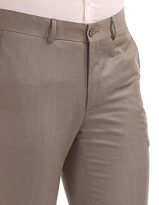 Excalibur Patterned Super Slim Fit Trousers