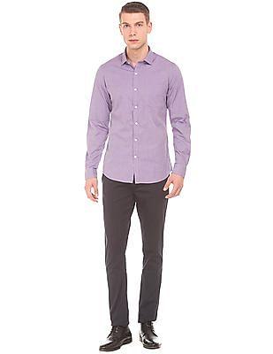 Excalibur Solid Slim Fit Shirt