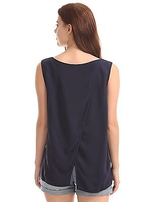 GAP Sleeveless Petal Back Top