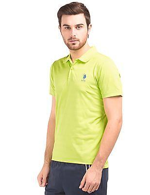 USPA Active Tonal Stripe Polo Shirt