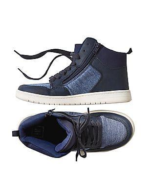 GAP Boys Suede Hi Top Sneakers