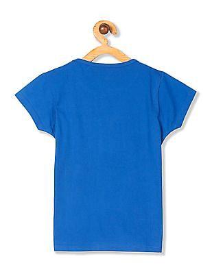 Day 2 Day Girls Short Sleeve Veronica Graphic T-Shirt