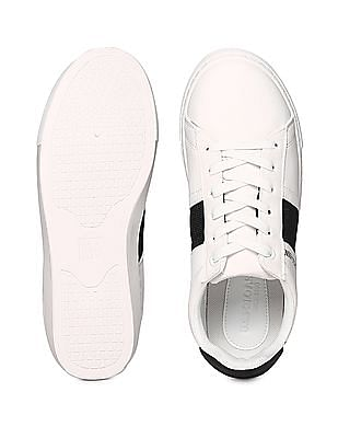 U.S. Polo Assn. Contrast Sole Low Top Sneakers