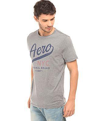 Aeropostale Printed Regular Fit T-Shirt