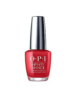 O.P.I Infinite Shine Longwear Lacquer - Big Apple Red