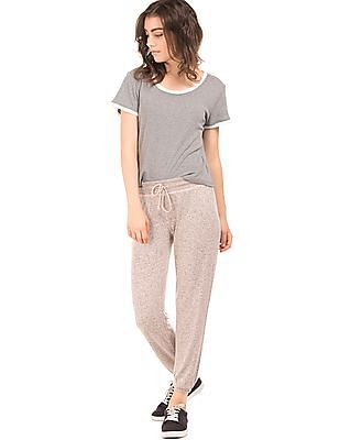 Aeropostale Heathered Relaxed Fit Joggers