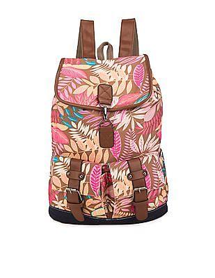 SUGR Tropical Print Backpack