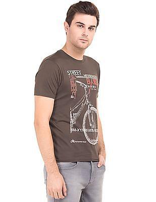 Newport Crew Neck Printed T-Shirt