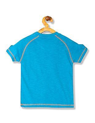 Cherokee Boys Printed Raglan Sleeve T-Shirt