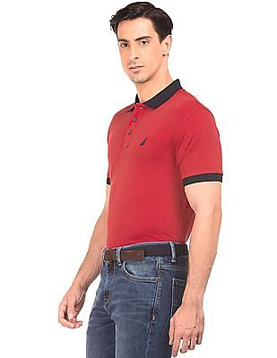 Nautica Slim Fit Solid Polo Shirt
