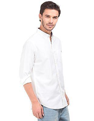 Aeropostale Button Down Collar Regular Fit Shirt