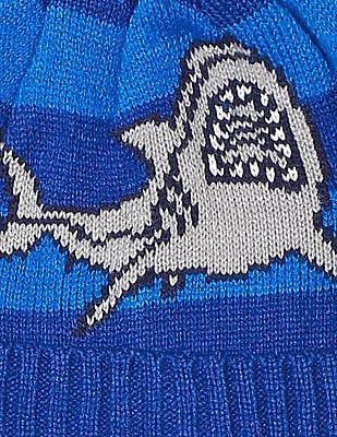 GAP Boys Shark Pom Beanie