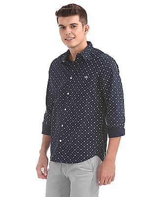 Aeropostale Regular Fit Printed Shirt