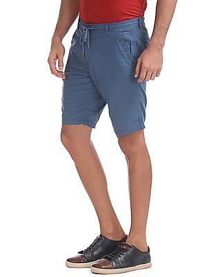 Cherokee Drawstring Cotton Shorts
