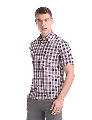 Arrow Sports Regular Fit Short Sleeve Shirt