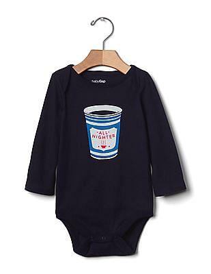 GAP Baby Snack Graphic Bodysuit