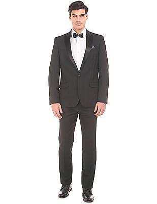 Arrow Single Breasted Check Suit