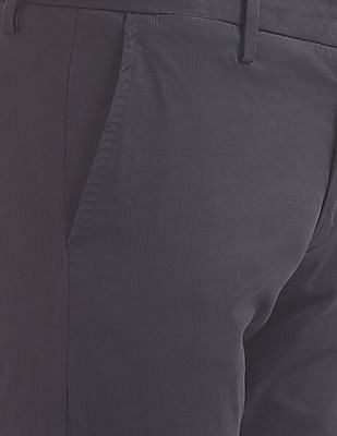 U.S. Polo Assn. Austin Trim Fit Printed Trousers