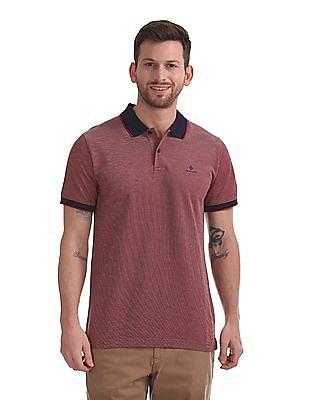 Gant Oxford Pique Short Sleeve Rugger Polo Shirt