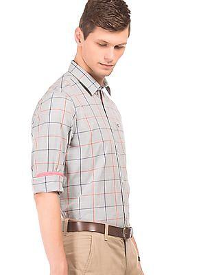 Arrow Sports Cotton Check Shirt
