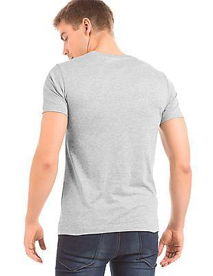 Colt Iron Man Print Slim Fit T-Shirt