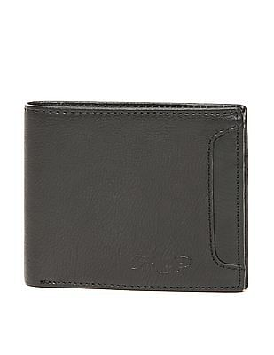 Ed Hardy Textured Leather Bi-Fold Wallet