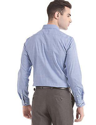Arrow Newyork Skinny Fit Tonal Check Shirt