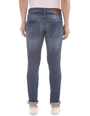 Cherokee Distressed Slim Fit Jeans