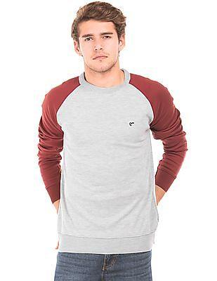 Ruggers Colour Block Raglan Sleeve Sweater
