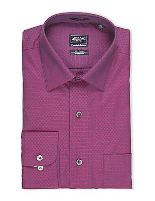 Arrow Jacquard Regular Fit Shirt