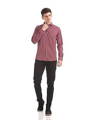 Excalibur Slim Fit Printed Shirt