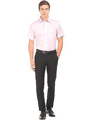 Arrow Newyork Super Slim Fit Dobby Trousers