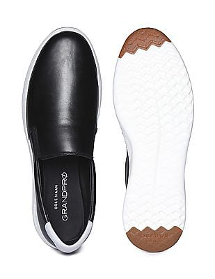 Cole Haan Grand Pro Leather Slip On Shoes
