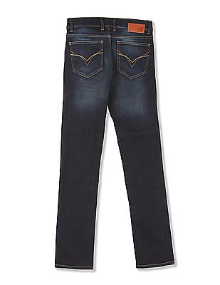 Flying Machine Skinny Fit Dark Wash Jeans