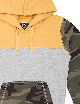 FM Boys Boys Slim Fit Colour Block Sweatshirt