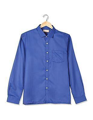 Excalibur Spread Collar Solid Shirt