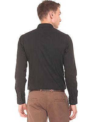 Excalibur Super Slim Fit French Placket Shirt