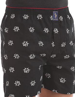USPA Innerwear Printed Boxer Shorts