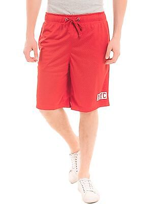 Aeropostale Mid Rise Jersey Mesh Shorts
