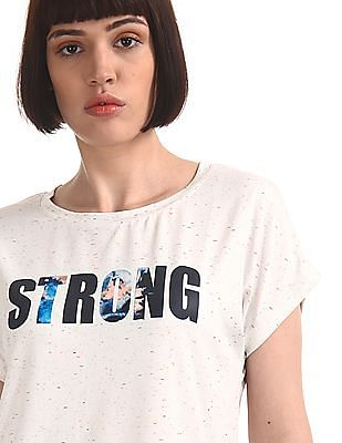 SUGR White Extended Sleeve Active Top